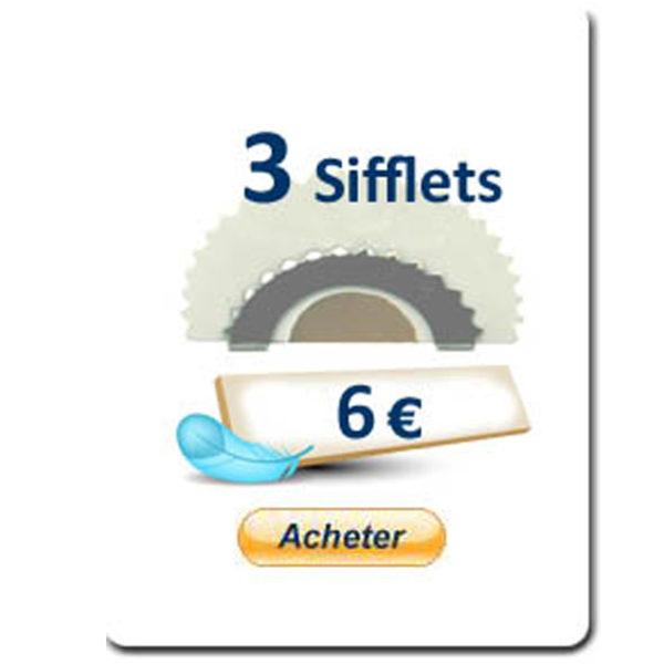 3 Sifflets-Rossignol