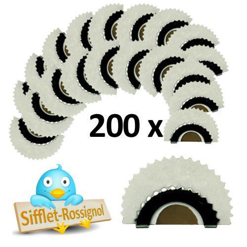 200 Sifflets-Rossignol
